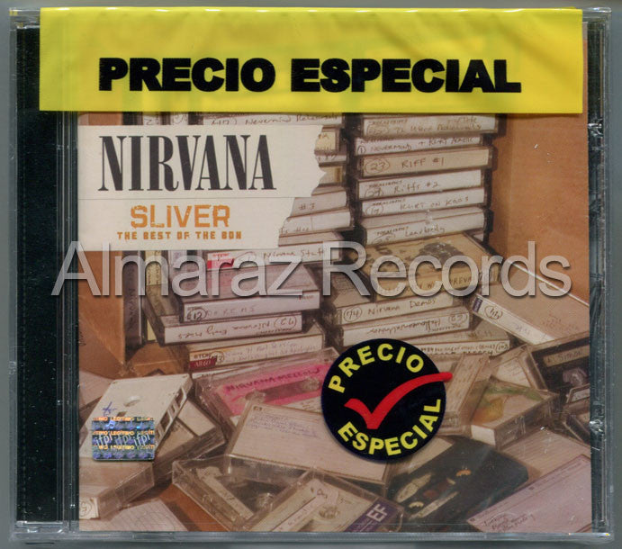 Nirvana Silver The Best Of The Box CD - Almaraz Records | Tienda de Discos y Películas  - 1