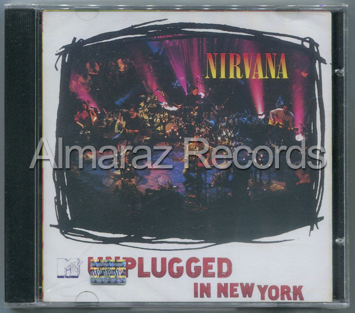 Nirvana MTV Unplugged In New York CD - Almaraz Records | Tienda de Discos y Películas  - 1