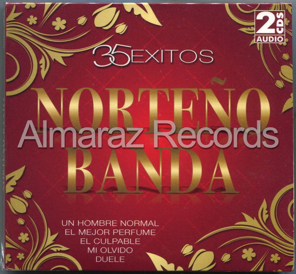 35 Exitos Norteño Banda 2CD