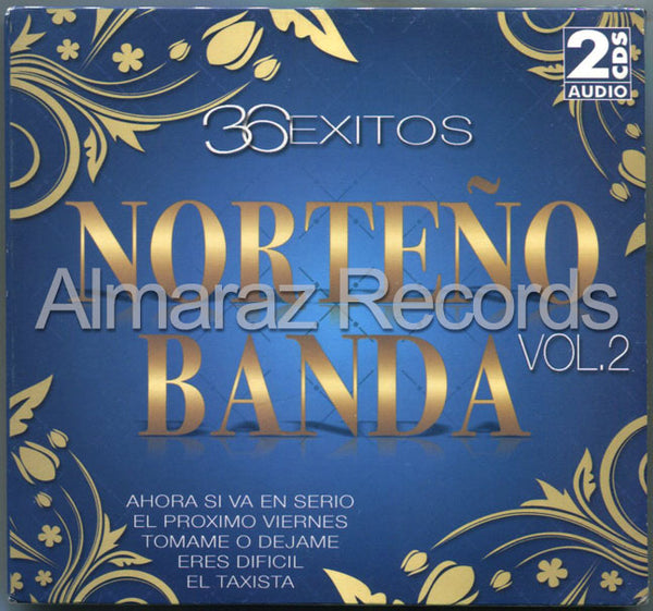 36 Exitos Norteño Banda 2CD