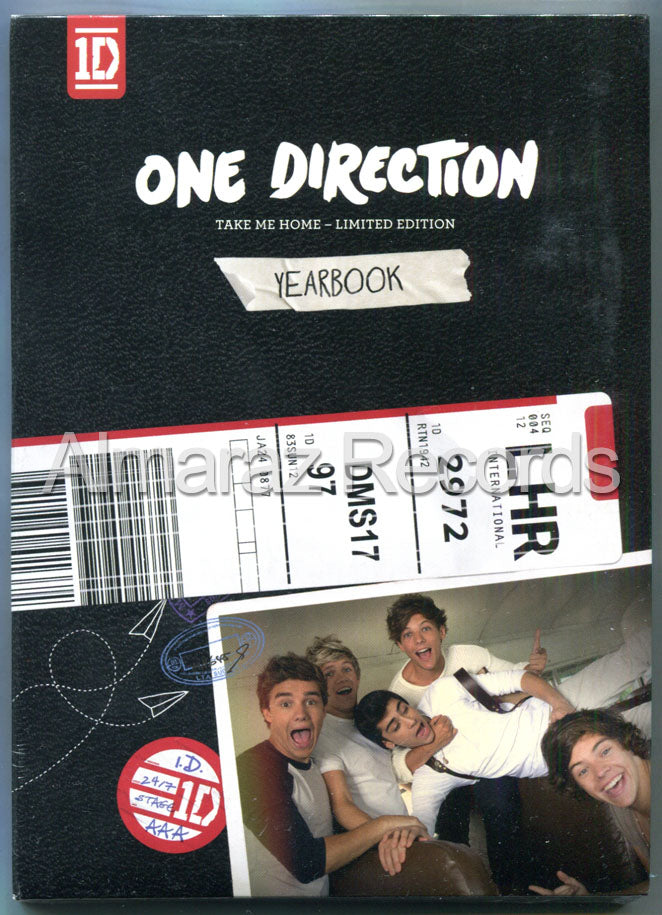 One Direction Take Me Home Deluxe Yearbook CD
