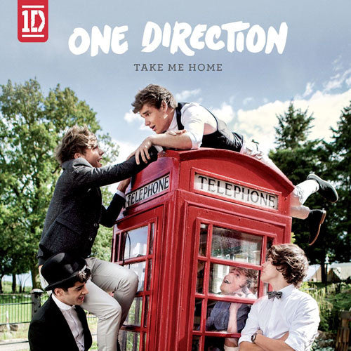 One Direction Take Me Home CD - Almaraz Records | Tienda de Discos y Películas