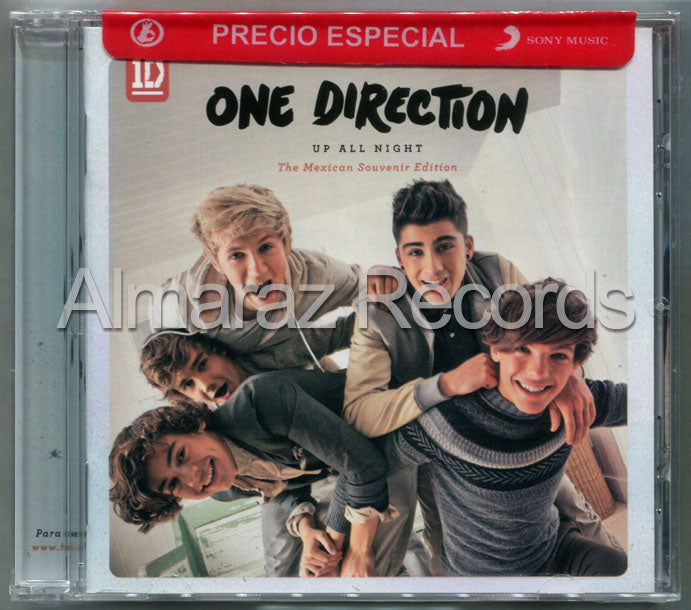 One Direction Up All Night The Mexican Souvenir Edition Deluxe CD