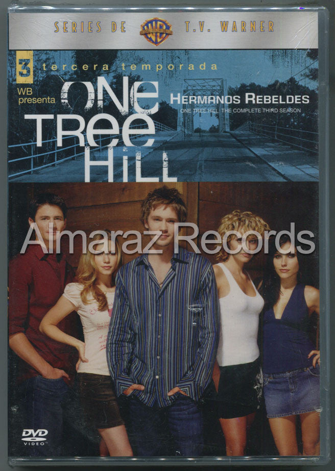 Hermanos Rebeldes Temporada 3 DVD - One Tree Hill - Almaraz Records | Tienda de Discos y Películas  - 1