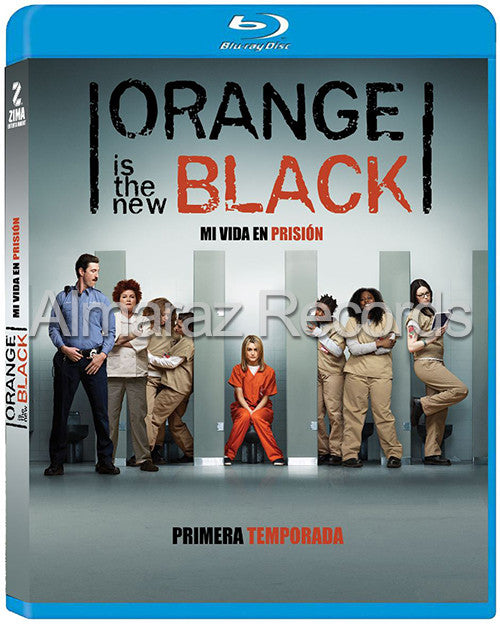 Orange Is The New Black Temporada 1 3Blu-Ray - Almaraz Records | Tienda de Discos y Películas