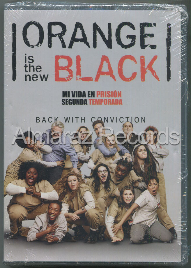 Orange Is The New Black Temporada 2 DVD - Almaraz Records | Tienda de Discos y Películas  - 1