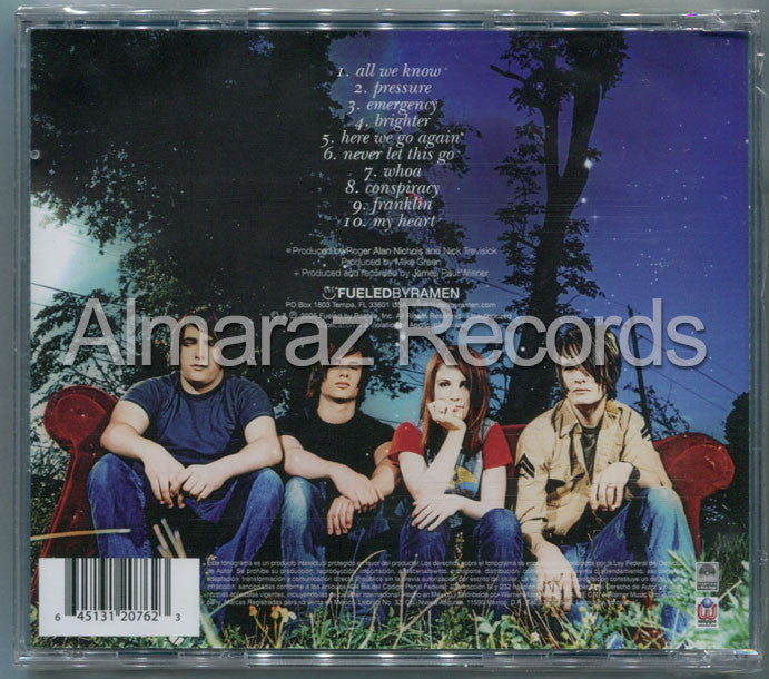 Paramore All We Know Is Falling CD - Almaraz Records | Tienda de Discos y Películas  - 2