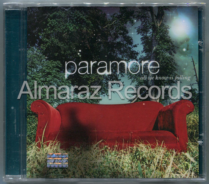 Paramore All We Know Is Falling CD - Almaraz Records | Tienda de Discos y Películas  - 1