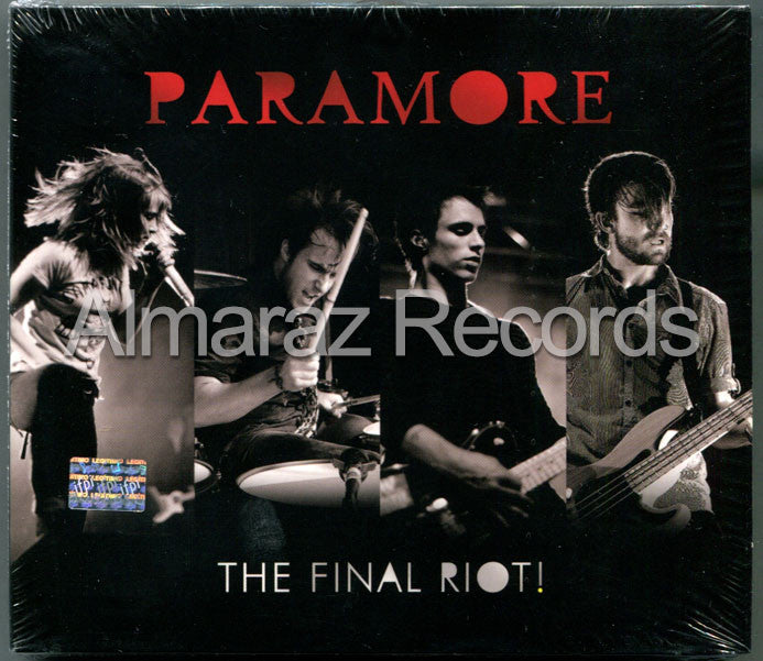 Paramore The Final Riot CD+DVD - Almaraz Records | Tienda de Discos y Películas  - 1