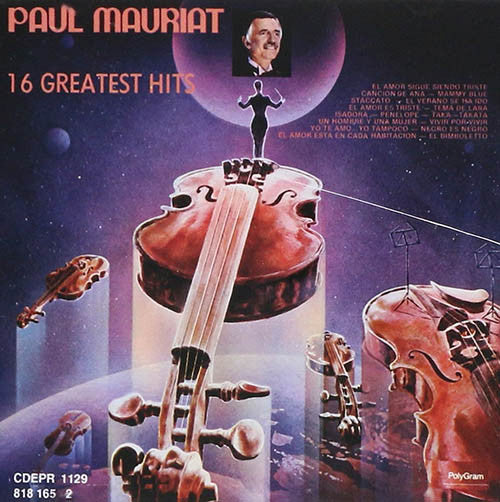 Paul Mauriat 16 Greatest Hits CD
