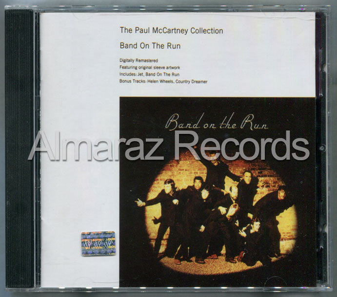 Paul McCartney Band On The Run CD EMI (Usado) - Almaraz Records | Tienda de Discos y Películas  - 1