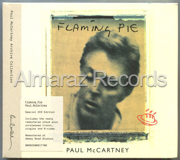 Paul McCartney Flaming Pie Special Edition 2CD