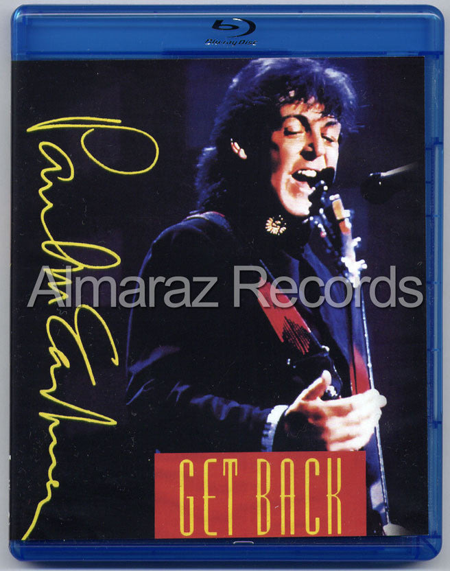 Paul McCartney Get Back Blu-Ray - Almaraz Records | Tienda de Discos y Películas  - 1