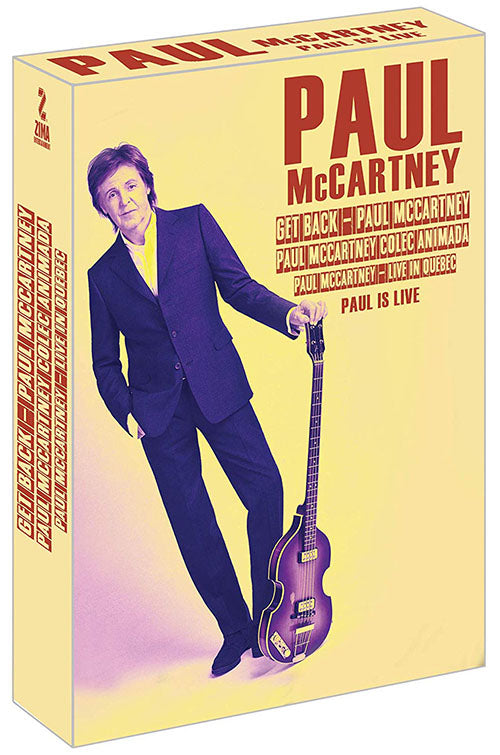 Paul McCartney Paul Is Live 3DVD
