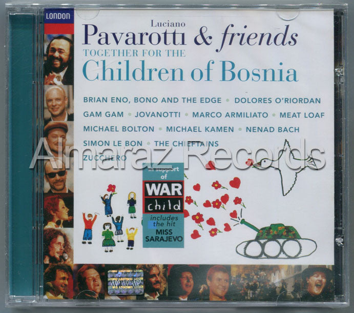 Luciano Pavarotti & Friends Children Of Bosnia CD - Almaraz Records | Tienda de Discos y Películas  - 1