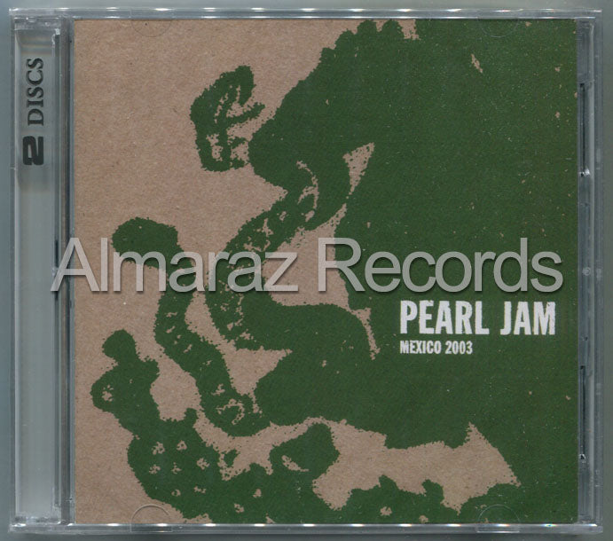 Pearl Jam Mexico 2003 Live 17-07-03 2CD