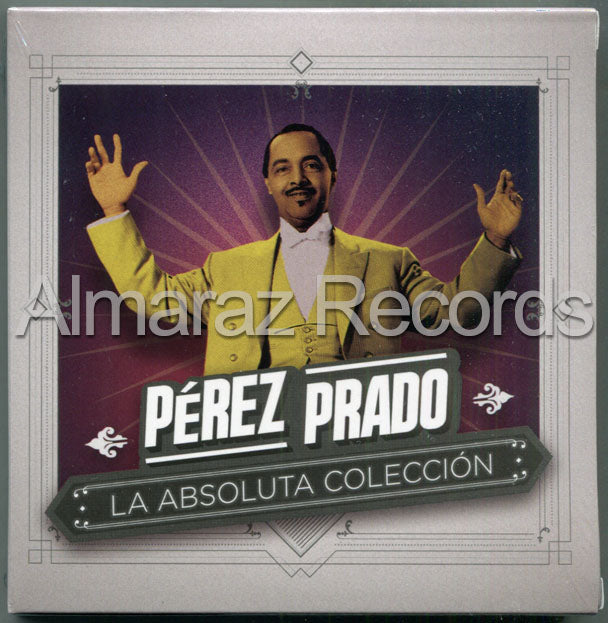 Perez Prado La Absoluta Coleccion 4CD+DVD