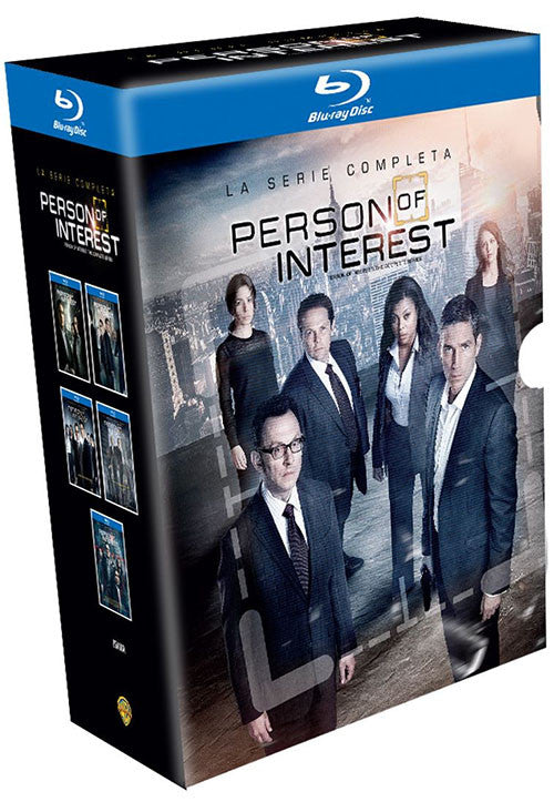 Person Of Interest La Serie Completa 19Blu-Ray - Almaraz Records | Tienda de Discos y Películas