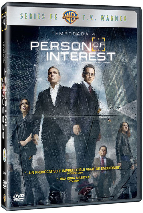 Person Of Interest Temporada 4 6DVD - Almaraz Records | Tienda de Discos y Películas