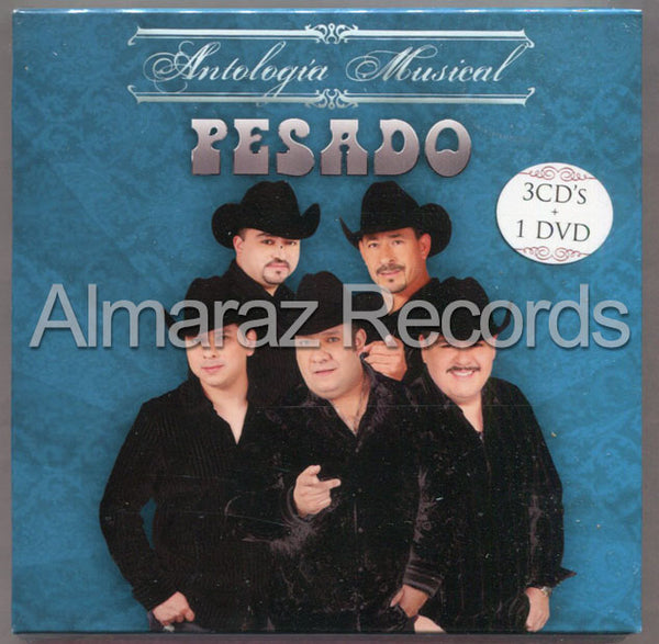 Pesado Antologia Musical 3CD+DVD
