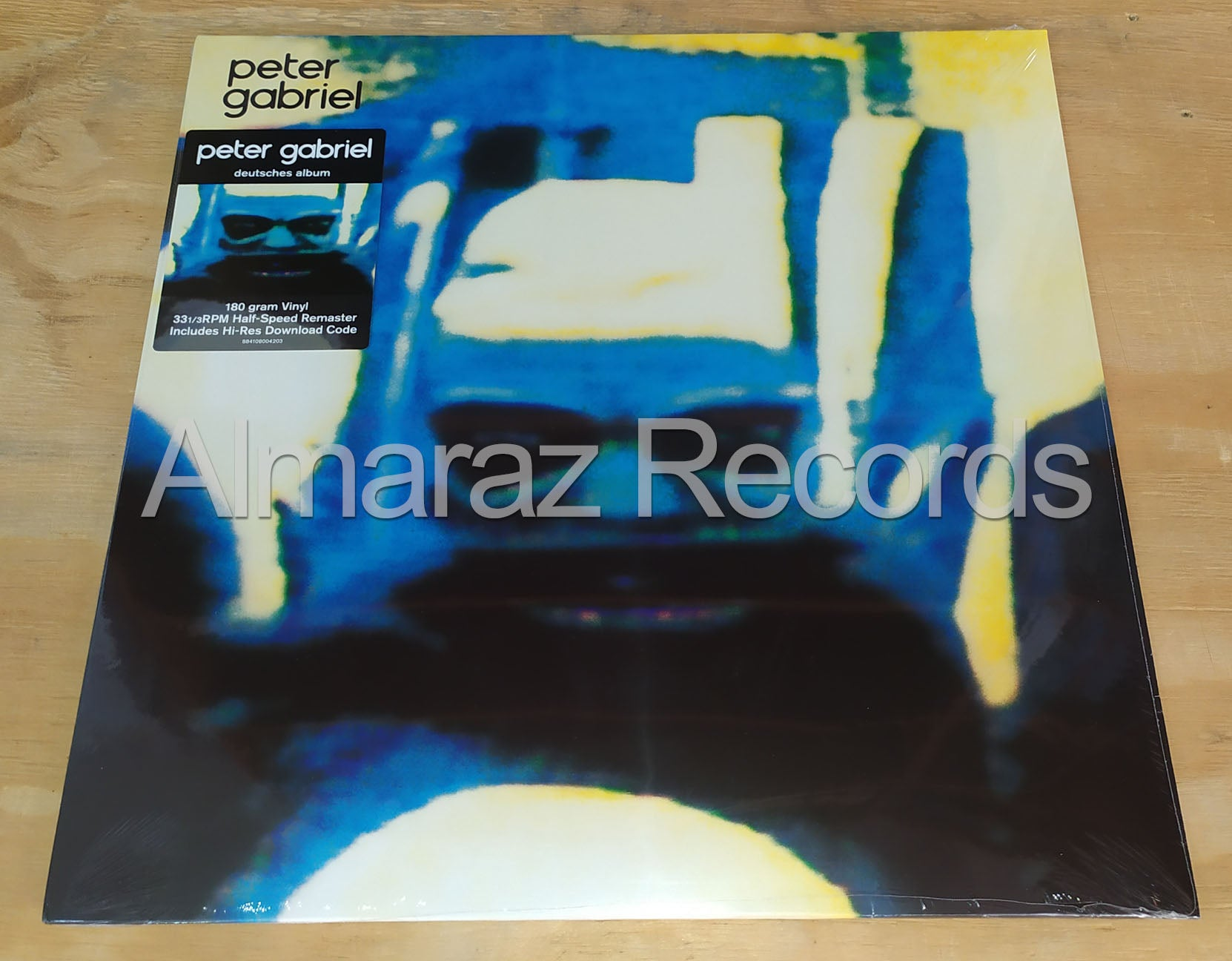 Peter Gabriel 4 Deutsches Album Vinyl LP
