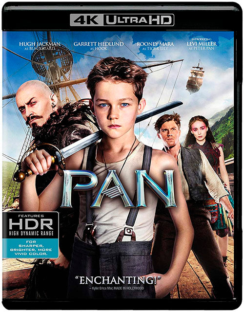 Peter Pan Blu-Ray 4K Ultra HD + Blu-Ray