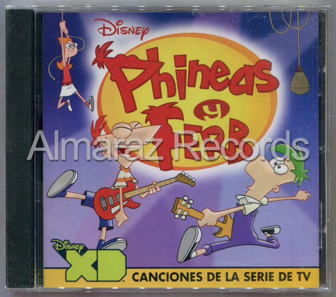 Disney Phineas y Ferb CD