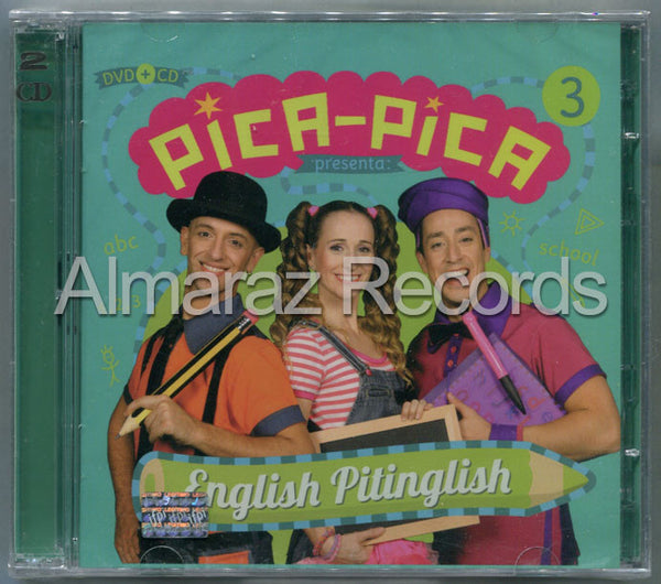 Pica-Pica English Pitinglish CD+DVD - Almaraz Records | Tienda de Discos y Películas  - 1