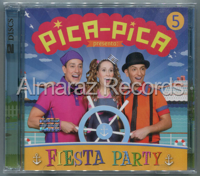 Pica-Pica Vol. 5 Fiesta Party CD+DVD