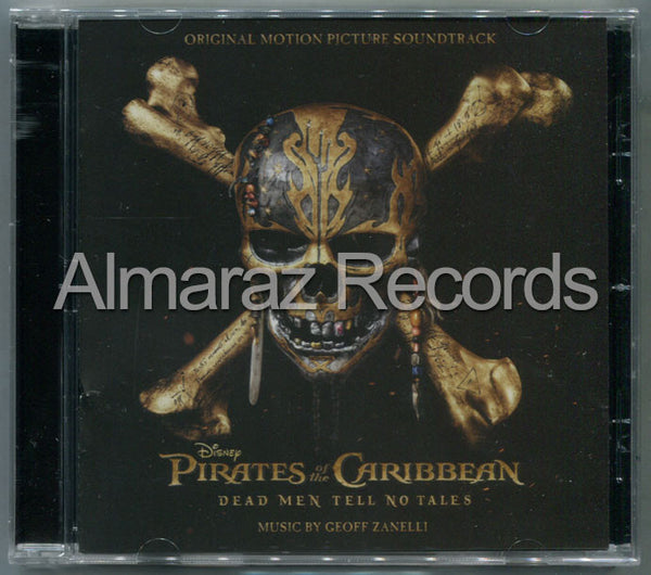 Pirates Of The Caribbean Dead Men Tell No Tales CD