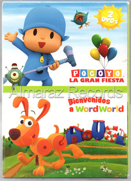 Paquete Pocoyo & Wordworld DVD