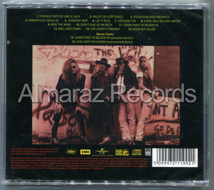 Poison Flesh & Blood CD - Almaraz Records | Tienda de Discos y Películas  - 2