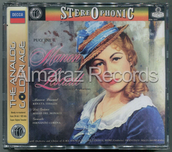 Puccini Manon Lescaut The Analog Golden Age 2CD