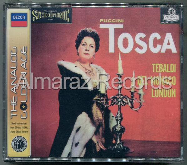 Puccini Tosca The Analog Golden Age 2CD