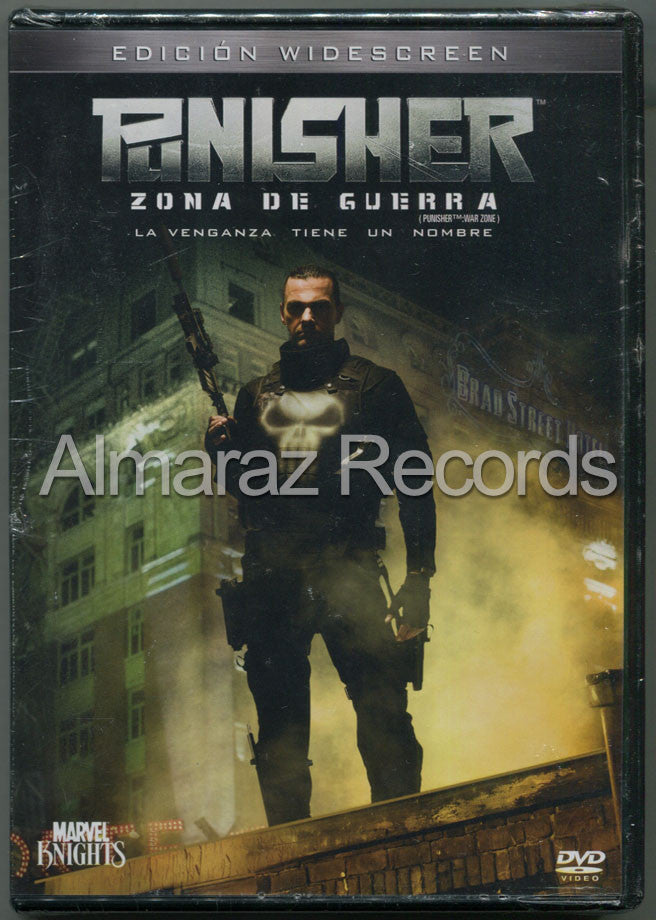 Punisher Zona De Guerra DVD
