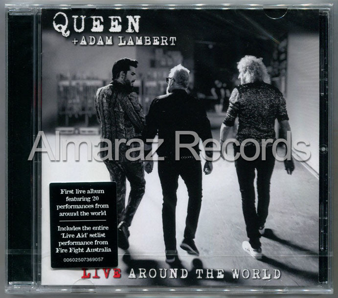 Queen + Adam Lambert Live Around The World CD