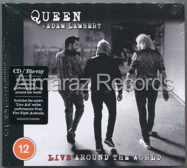 Queen + Adam Lambert Live Around The World CD+Blu-Ray
