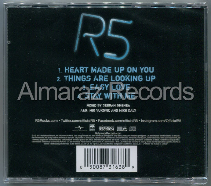 R5 Heart Made Up On You CD EP - Almaraz Records | Tienda de Discos y Películas  - 2