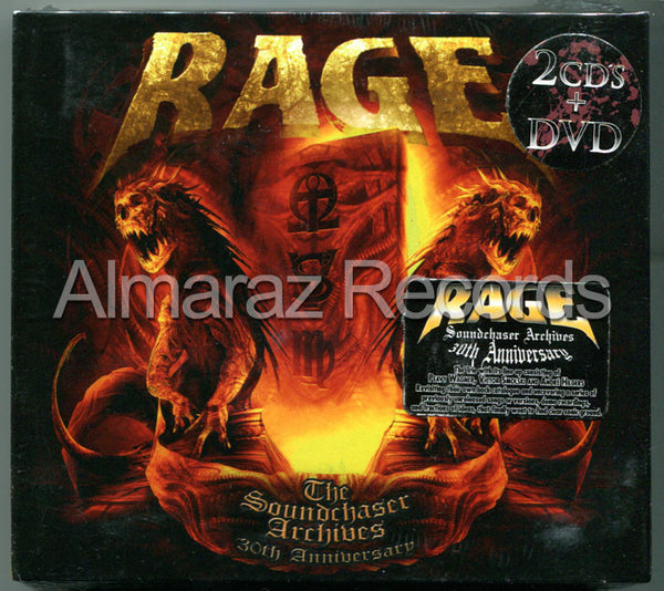 Rage The Soundchaser Archives 30th Anniversary 2CD+DVD - Almaraz Records | Tienda de Discos y Películas  - 1