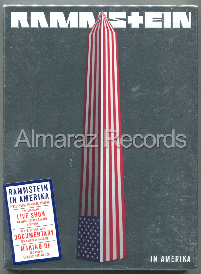 Rammstein Live In Amerika 2Blu-Ray [Import]