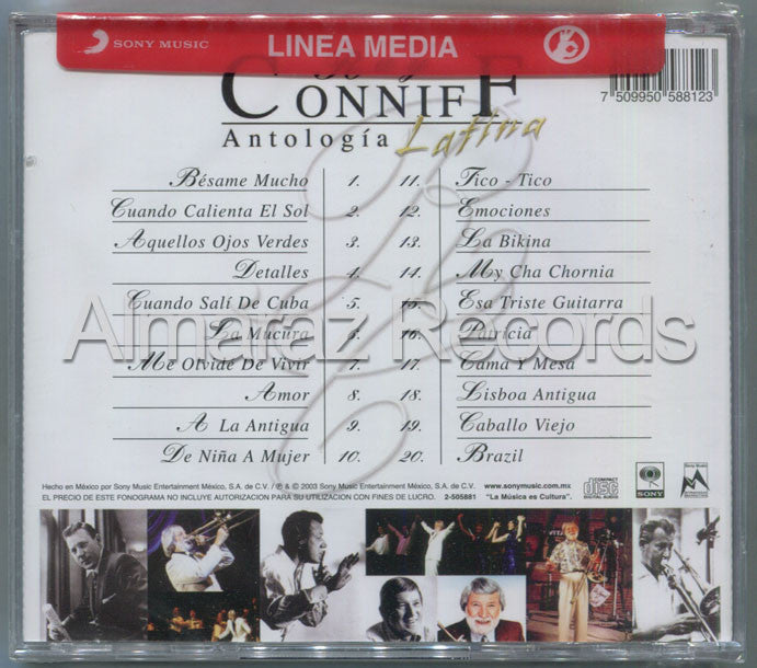 Ray Conniff Antologia Latina CD