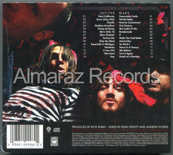 Red Hot Chili Peppers Stadium Arcadium 2CD