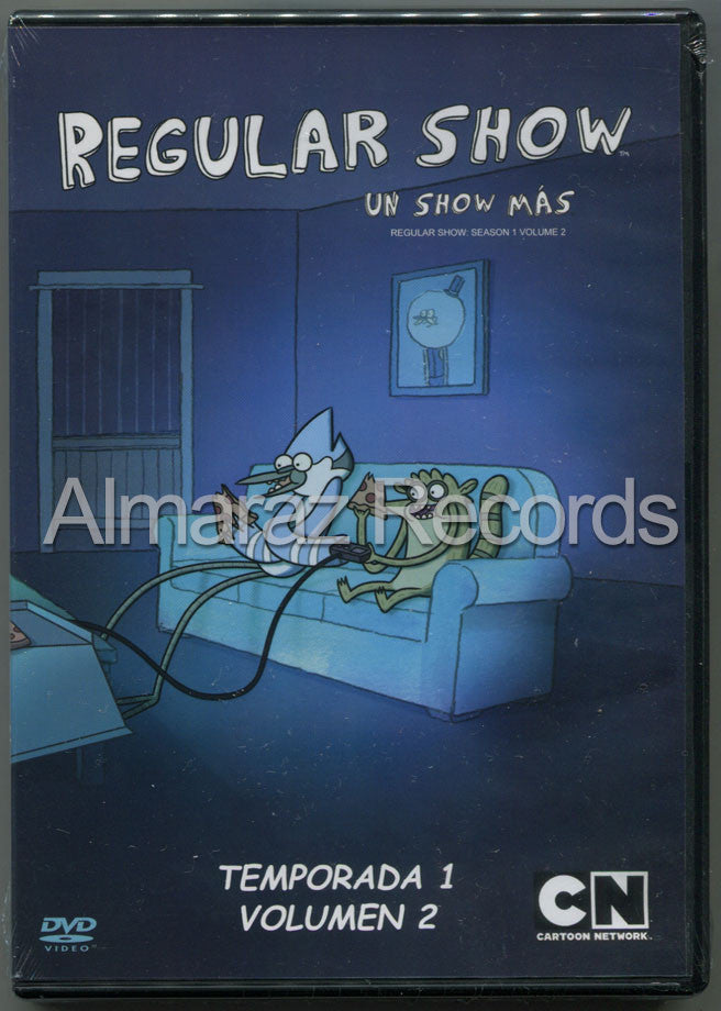 Un Show Mas Temporada 1 Vol. 2 DVD - Regular Show Season 1 Vol. 2 - Almaraz Records | Tienda de Discos y Películas  - 1