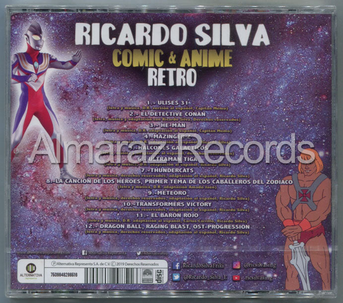 Ricardo Silva Comic & Anime Retro CD
