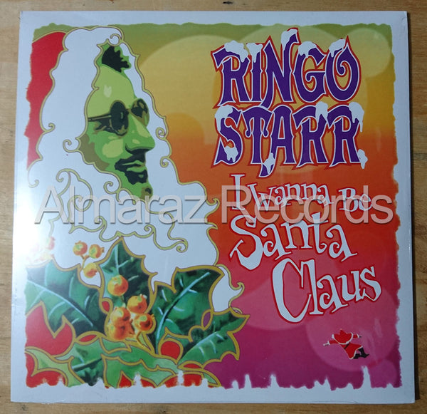 Ringo Starr I Wanna Be Santa Claus Vinyl LP