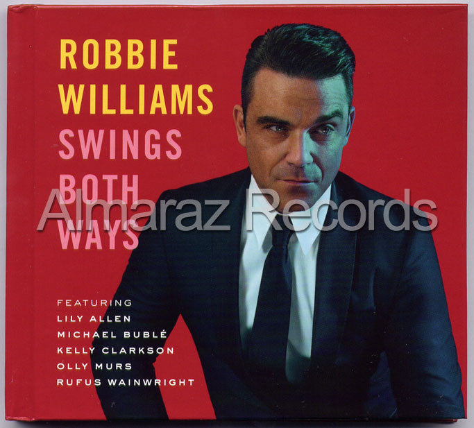 Robbie Williams Swings Both Ways CD+DVD [Import] - Almaraz Records | Tienda de Discos y Películas  - 1