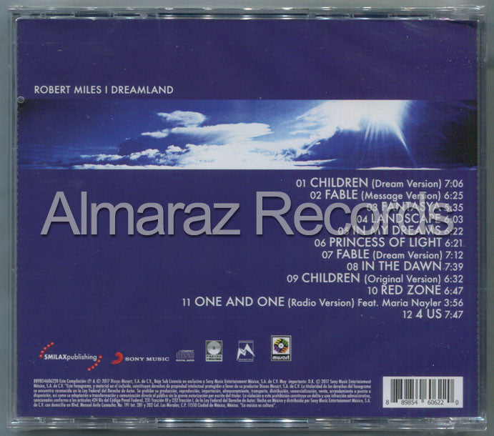 Robert Miles Dreamland CD