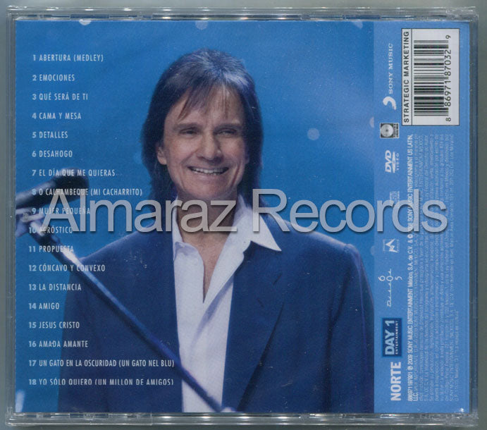 Roberto Carlos En Vivo CD+DVD