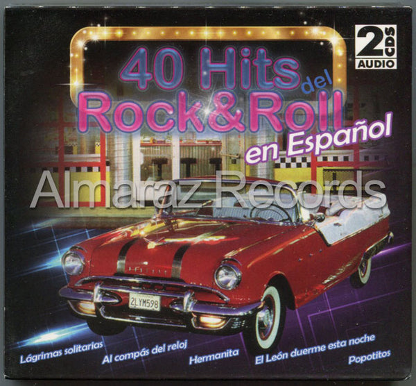40 Hits Del Rock & Roll En Español 2CD