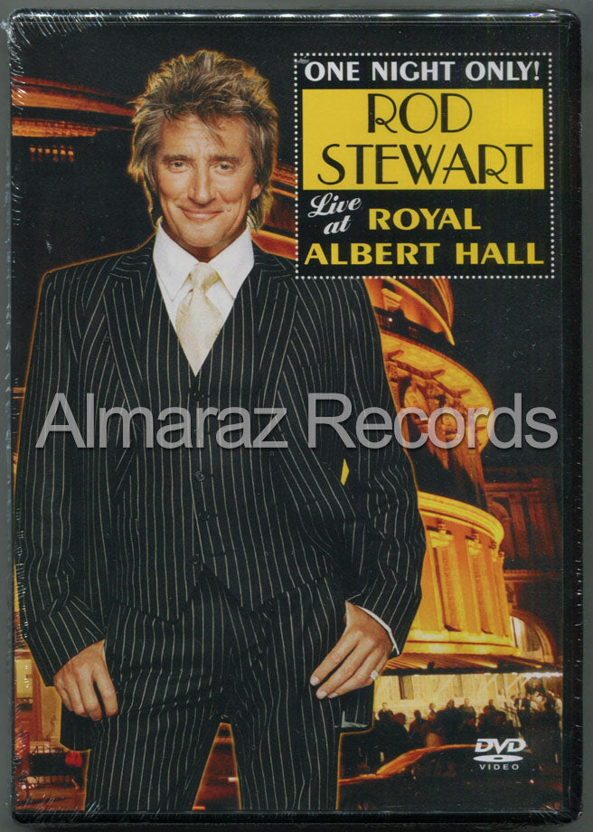 Rod Stewart One Night Only! Live At Royal Albert Hall DVD